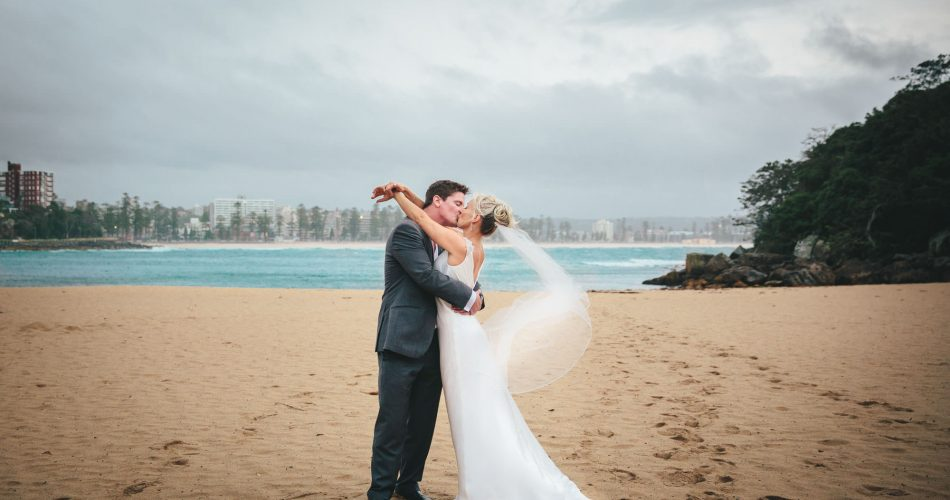 Jade and Harry and their wedding in Manly, Sydney