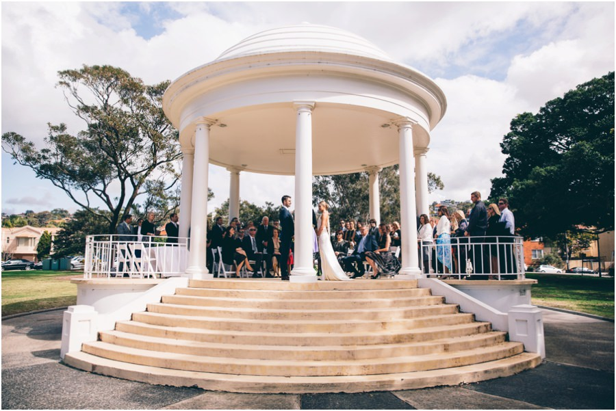 Bathers Pavilion Wedding