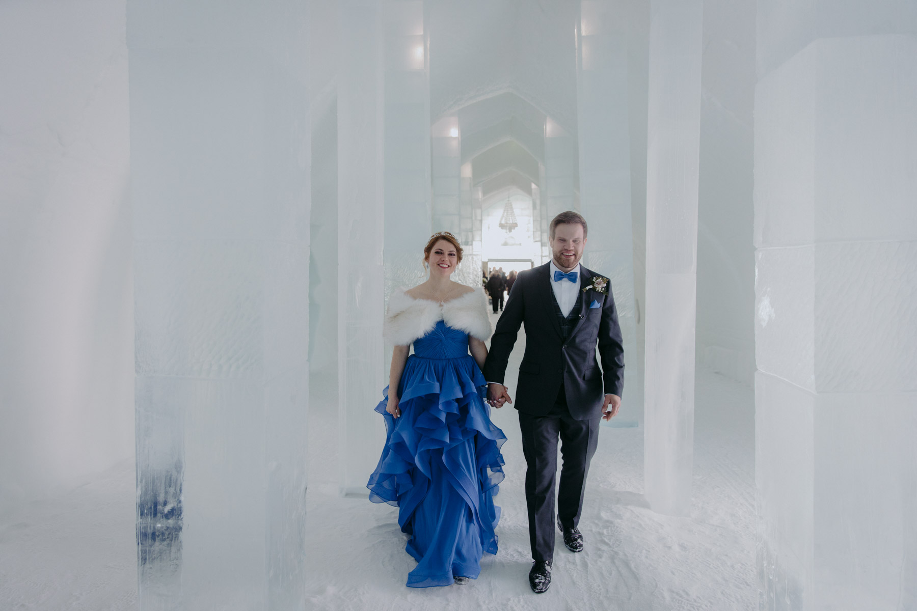Ice Hotel Wedding